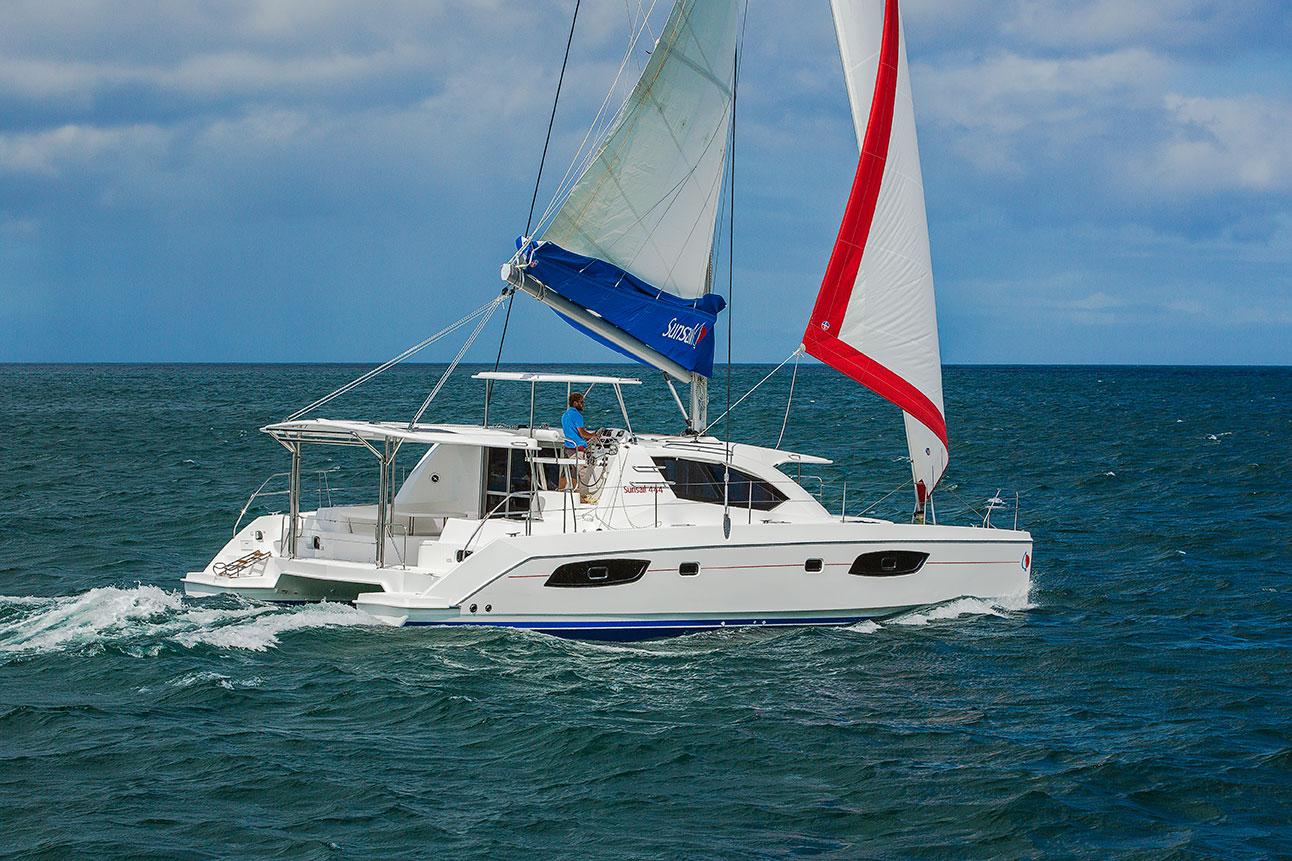 Sunsail 444 Sailing Photography
