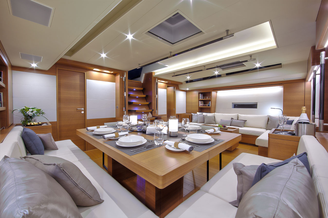 SWS 94ft Yacht Interior Photography