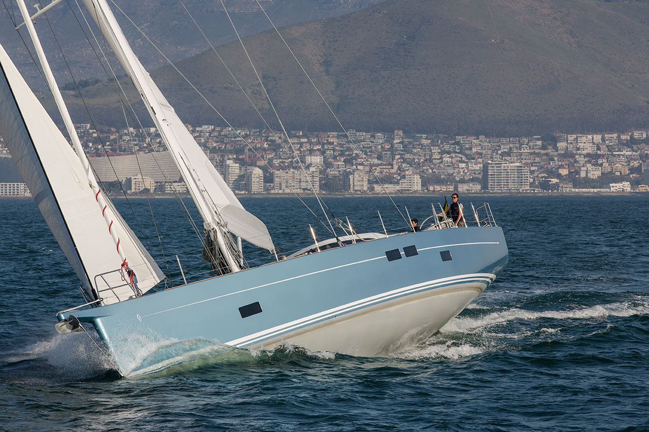 82 FT Southern Wind Shipyard Yacht