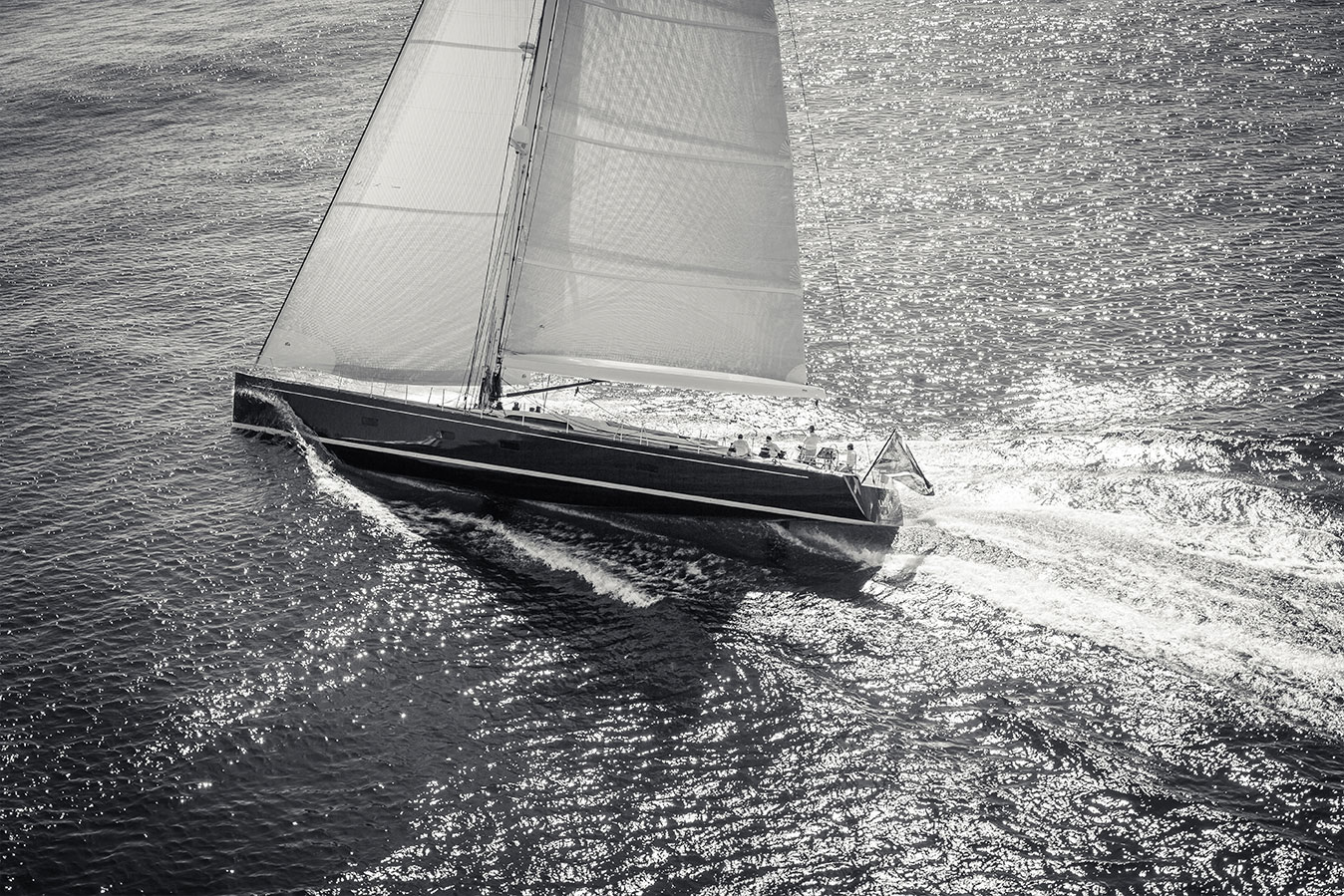 SWS 94ft Sailing Yacht Photography