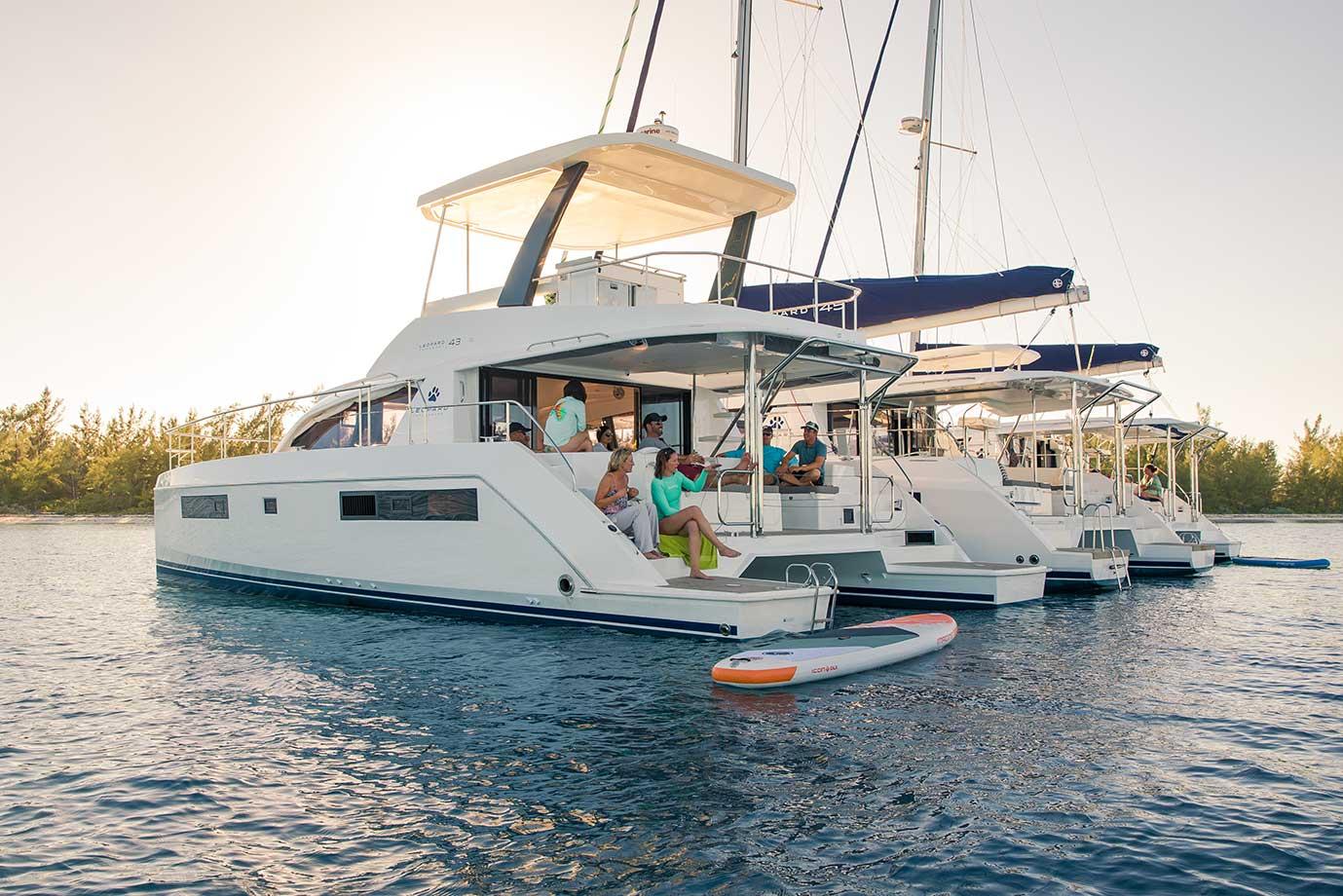 Leopard Catamarans Lifestyle Shoot: Bimini Islands - Nautique tv